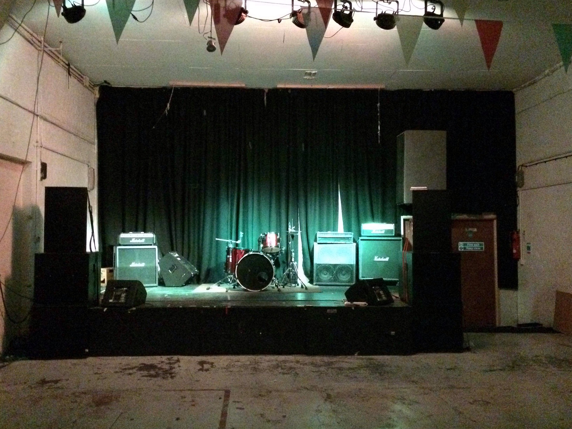 photo of: Stage with House Lights