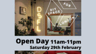 Open Day Image - text give event details time/date